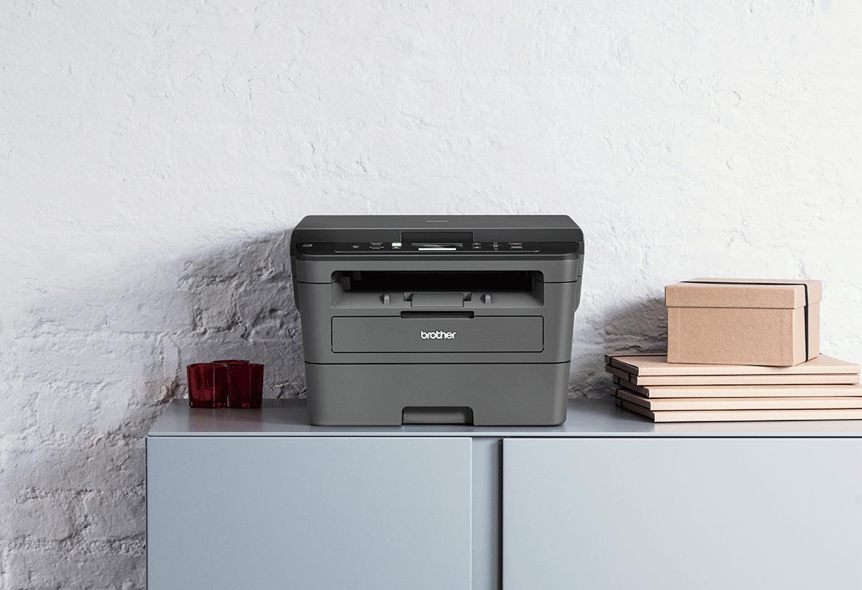 Multifunkční laserová tiskárna Brother v domácnosti