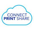 Logo cloudové aplikace Brother Connect Print Share
