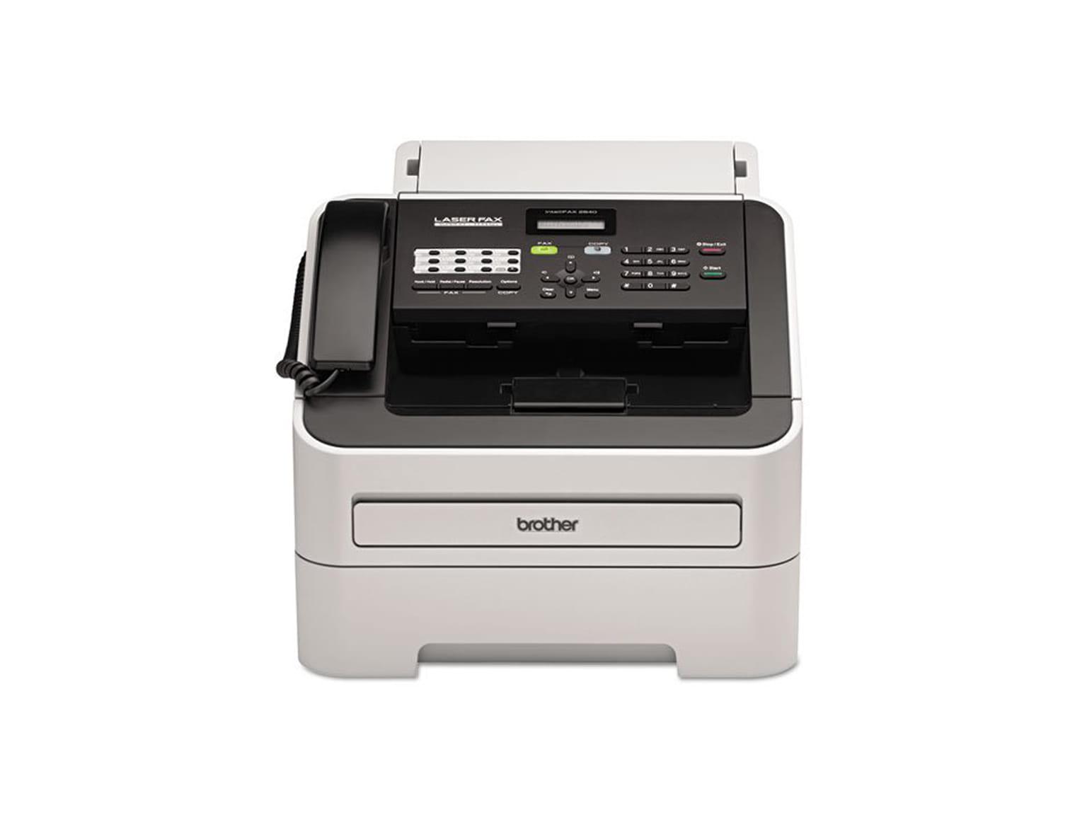 Laserový fax