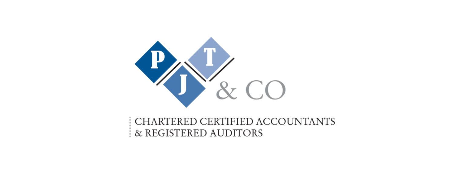 Výsadní certifikované účetní a registrované auditorské logo pjt a co