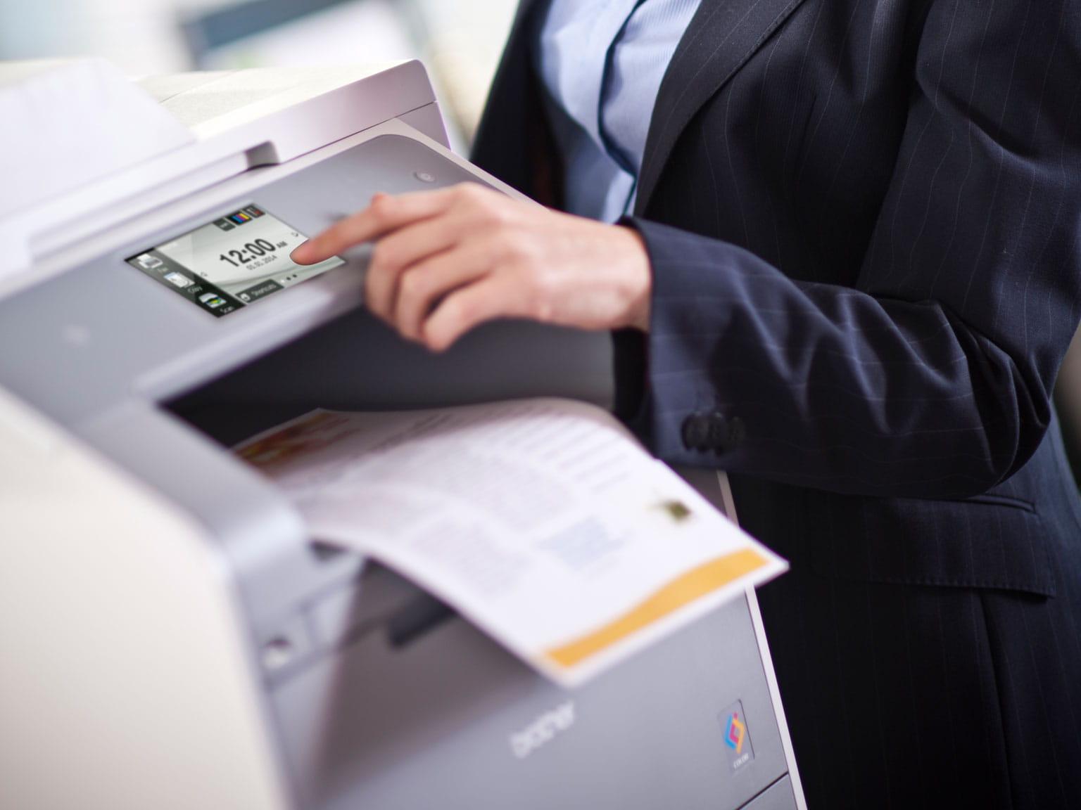 Velkopodnikový bezpečnostní tisk Print smart secure pro