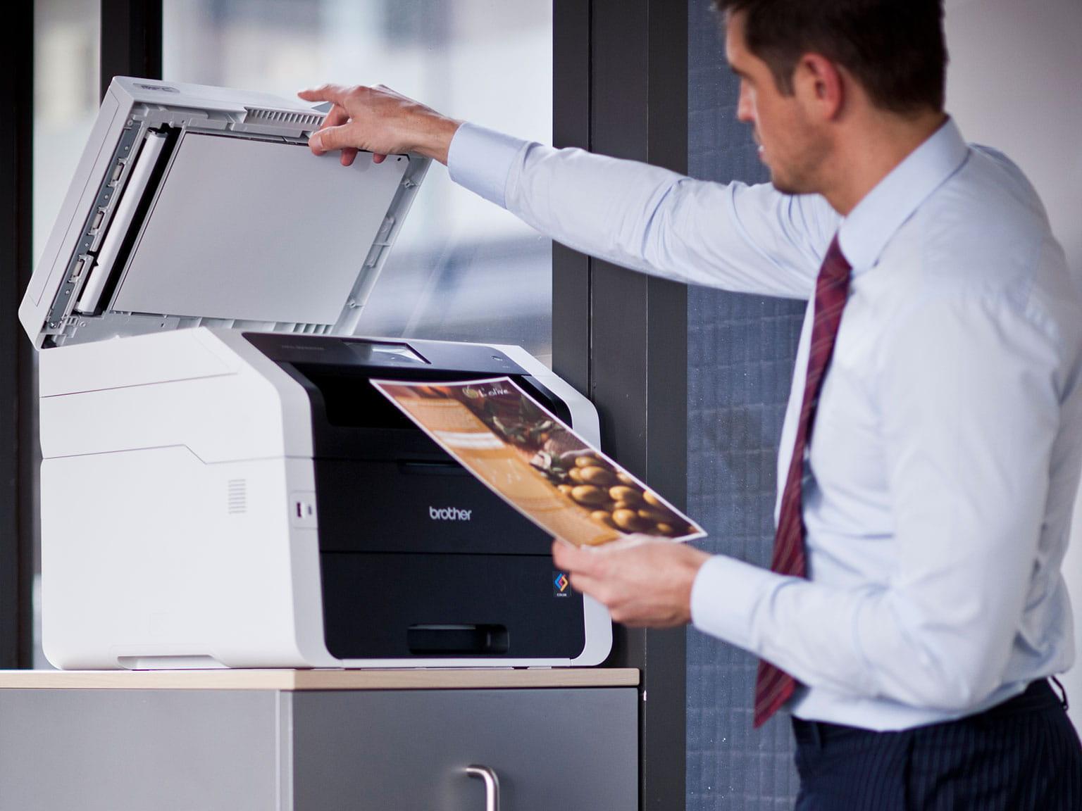 Řešení velkopodnikového skenování