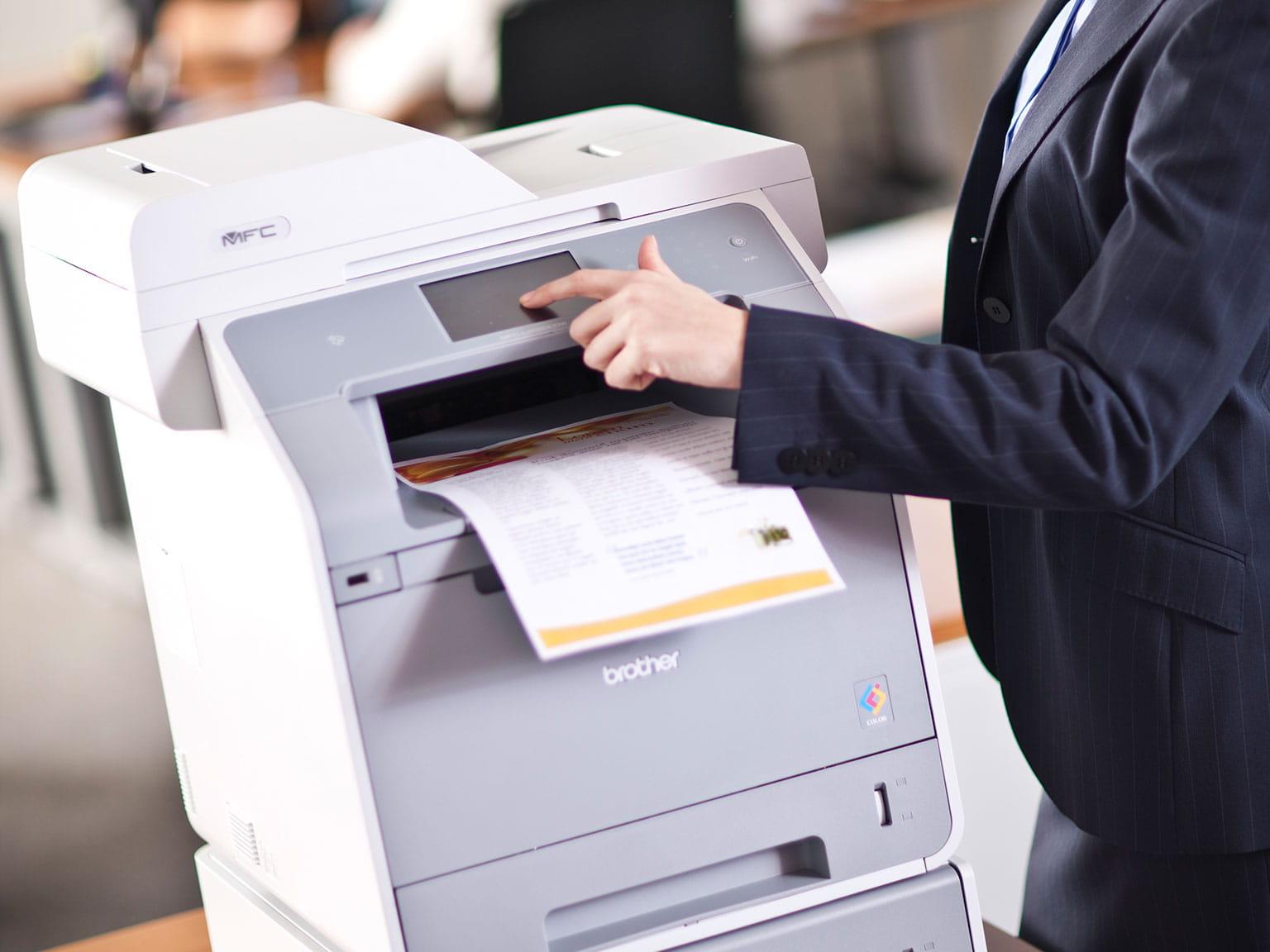 Řešení řízených tiskových služeb pro malé podniky managed print services mps