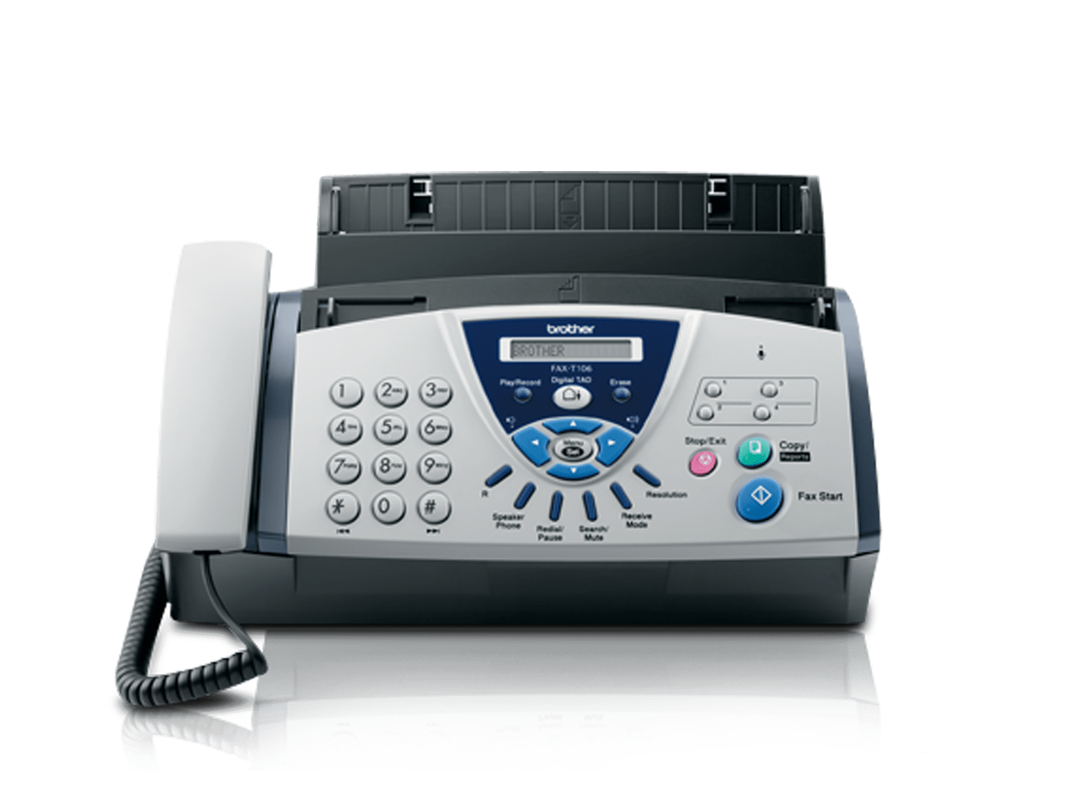Termotransferový fax Brother