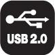 Ikona vysokorychlostního rozhraní USB 2.0