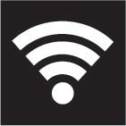 Logo bezdrátového síťového připojení