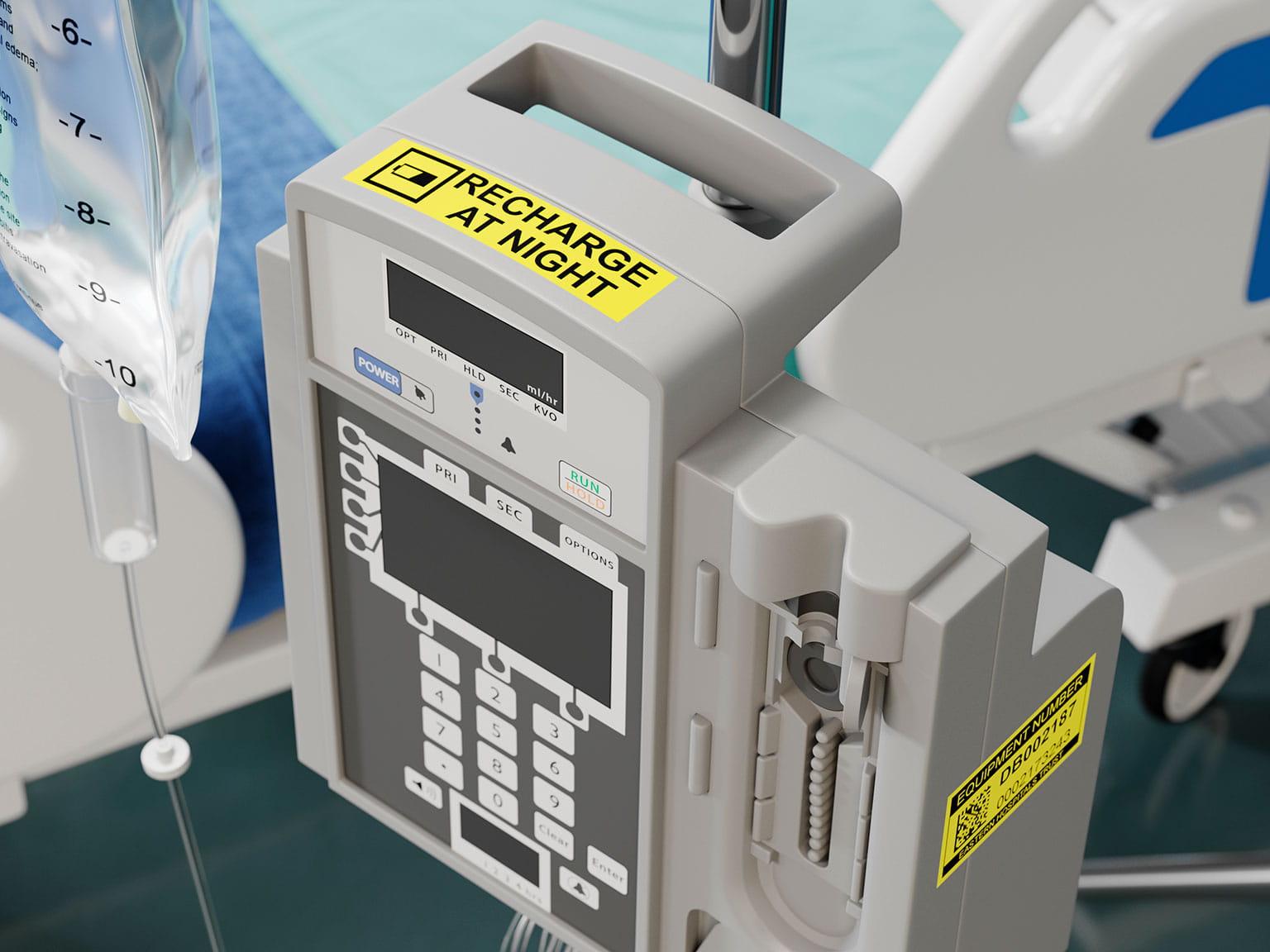 Provozní pokyny na zdravotnickém vybavení