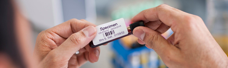 Krevní vzorek - klinická péče