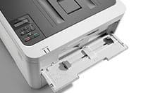 Barevná tiskárna HL-L3210DW s otevřeným ručním podavačem