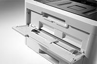 Barevná tiskárna HL-L3270DW s otevřeným ručním podavačem