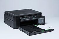 Černá inkoustová tiskárna DCPT510W s otevřeným zásobníkem papíru