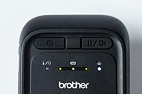 detail mobilní tiskárny RJ2035B nebo RJ2055WB