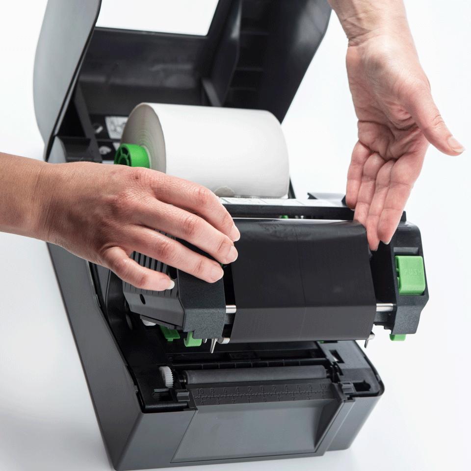 Brother TD-4520TN termotransferová stolní tiskárna štítků 5