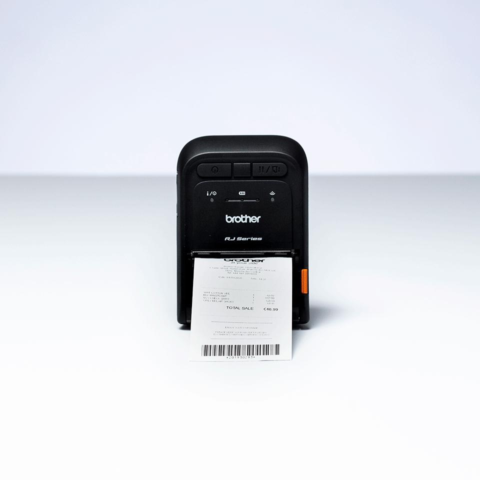 Brother RJ-2055WB mobilní tiskárna účtenek 5