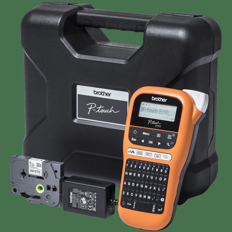 Brother P-touch PT-E110VP tiskárna štítků pro elektrikáře 4