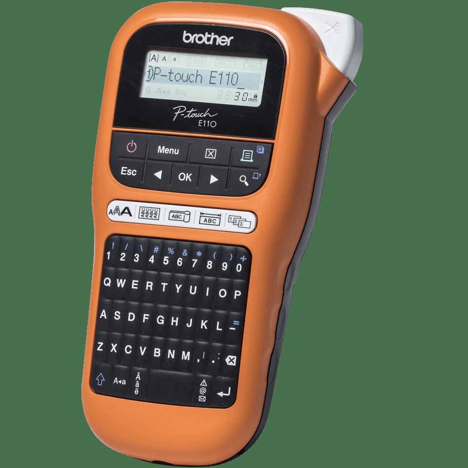Brother P-touch PT-E110VP tiskárna štítků pro elektrikáře 2