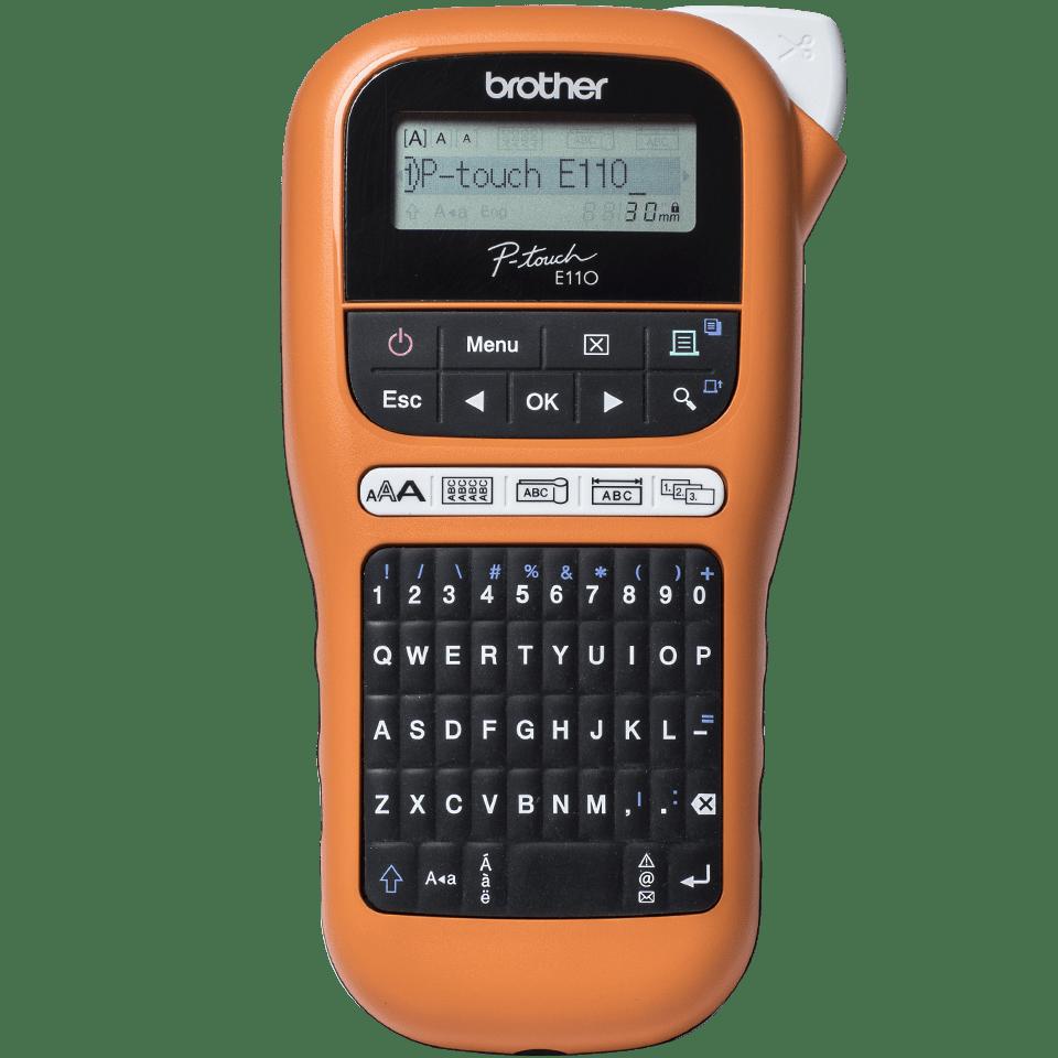 Brother P-touch PT-E110VP tiskárna štítků pro elektrikáře