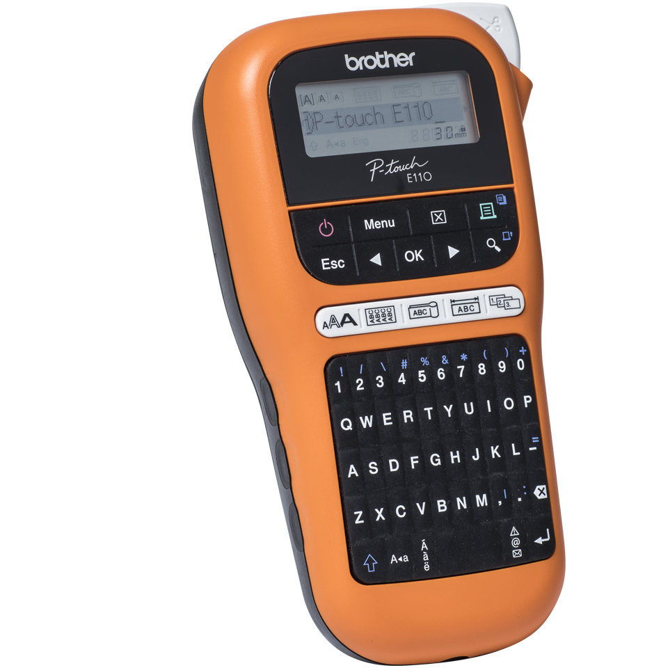 Brother P-touch PT-E110VP tiskárna štítků pro elektrikáře 3