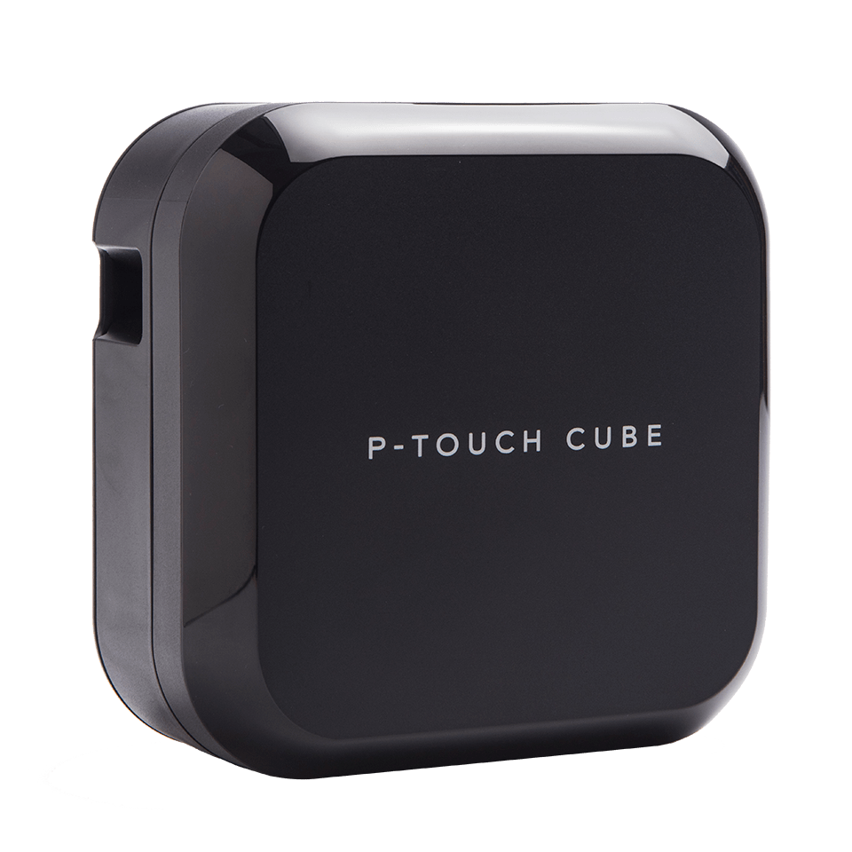 P-touch CUBE Plus nabíjecí tiskárna štítků s technologií Bluetooth 2