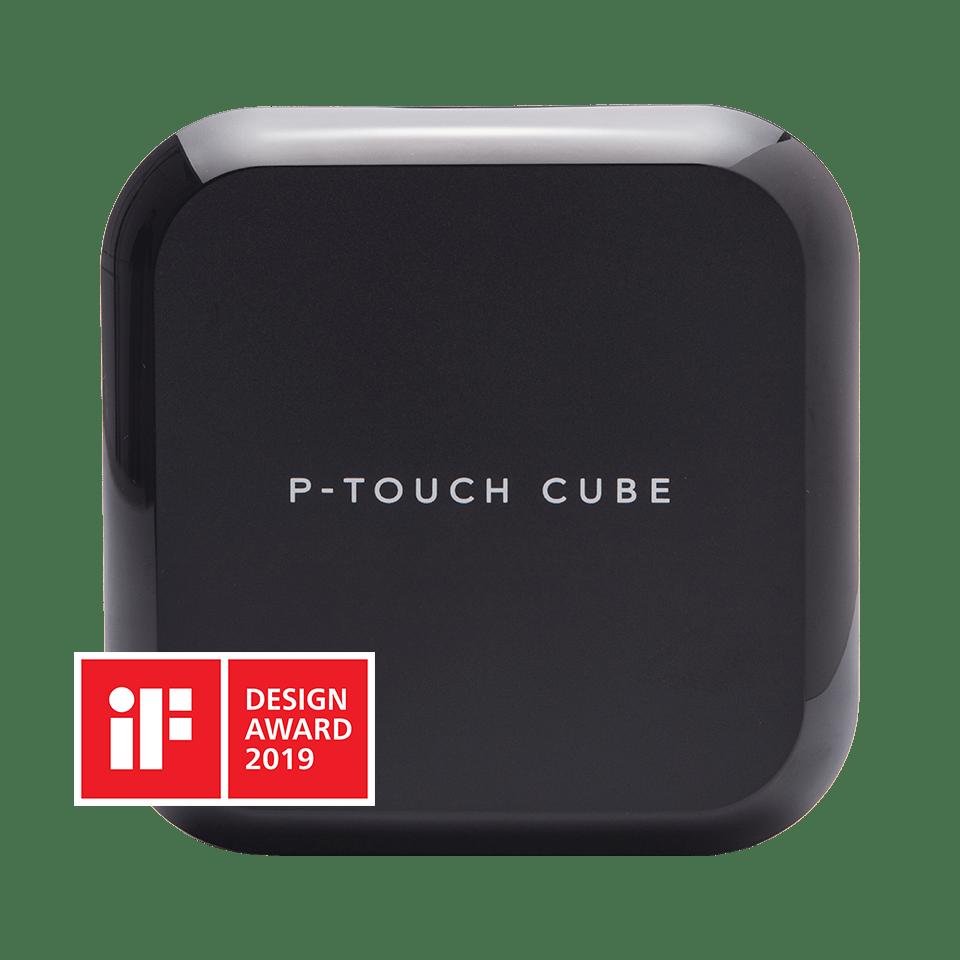 P-touch CUBE Plus nabíjecí tiskárna štítků s technologií Bluetooth