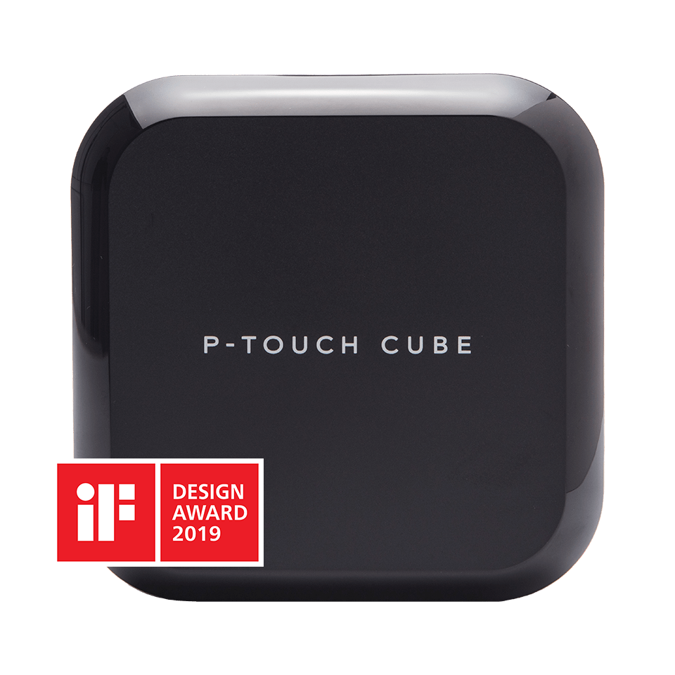 PTOUCH CUBE PLUS s logem ocenění
