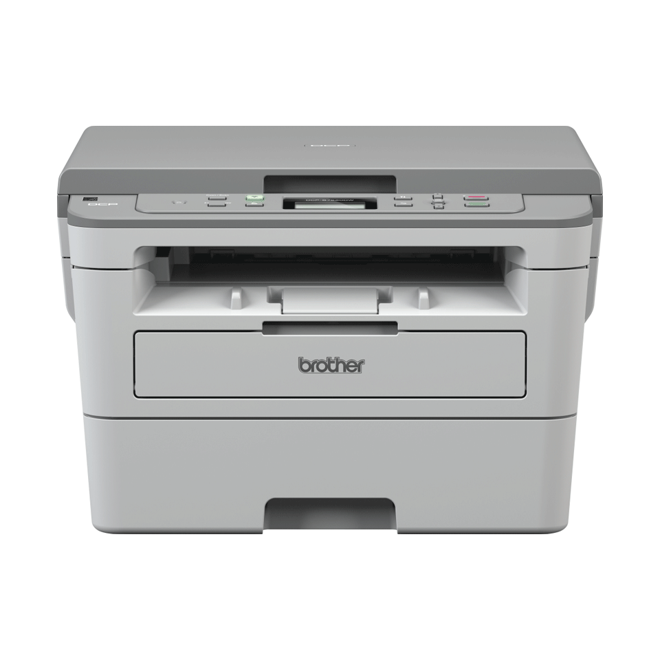 Brother DCP-B7520DW  mono laser 3-in-1 printer facing forward