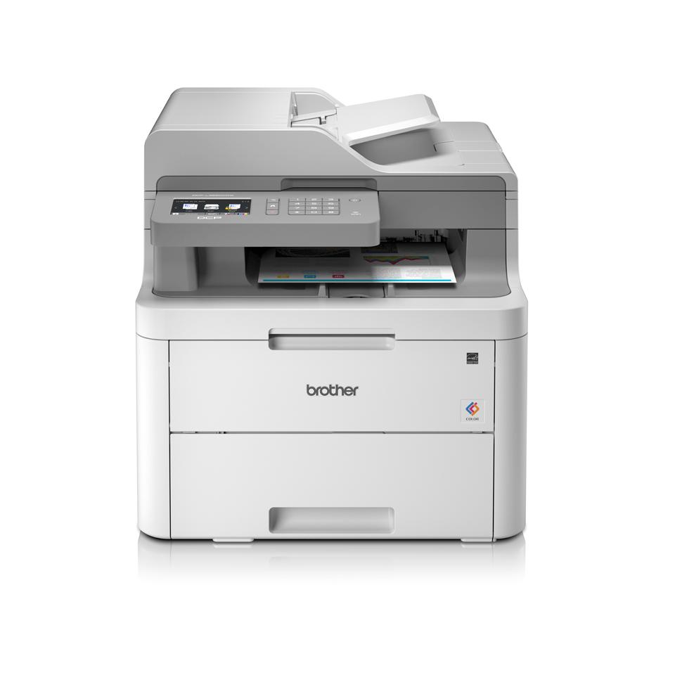DCP-L3550CDW Barevná bezdrátová LED tiskárna 3 v 1