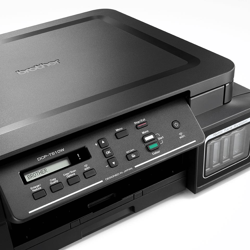 DCP-T310 InkBenefit Plus barevná multifunkční inkoustová tiskárna Brother 3