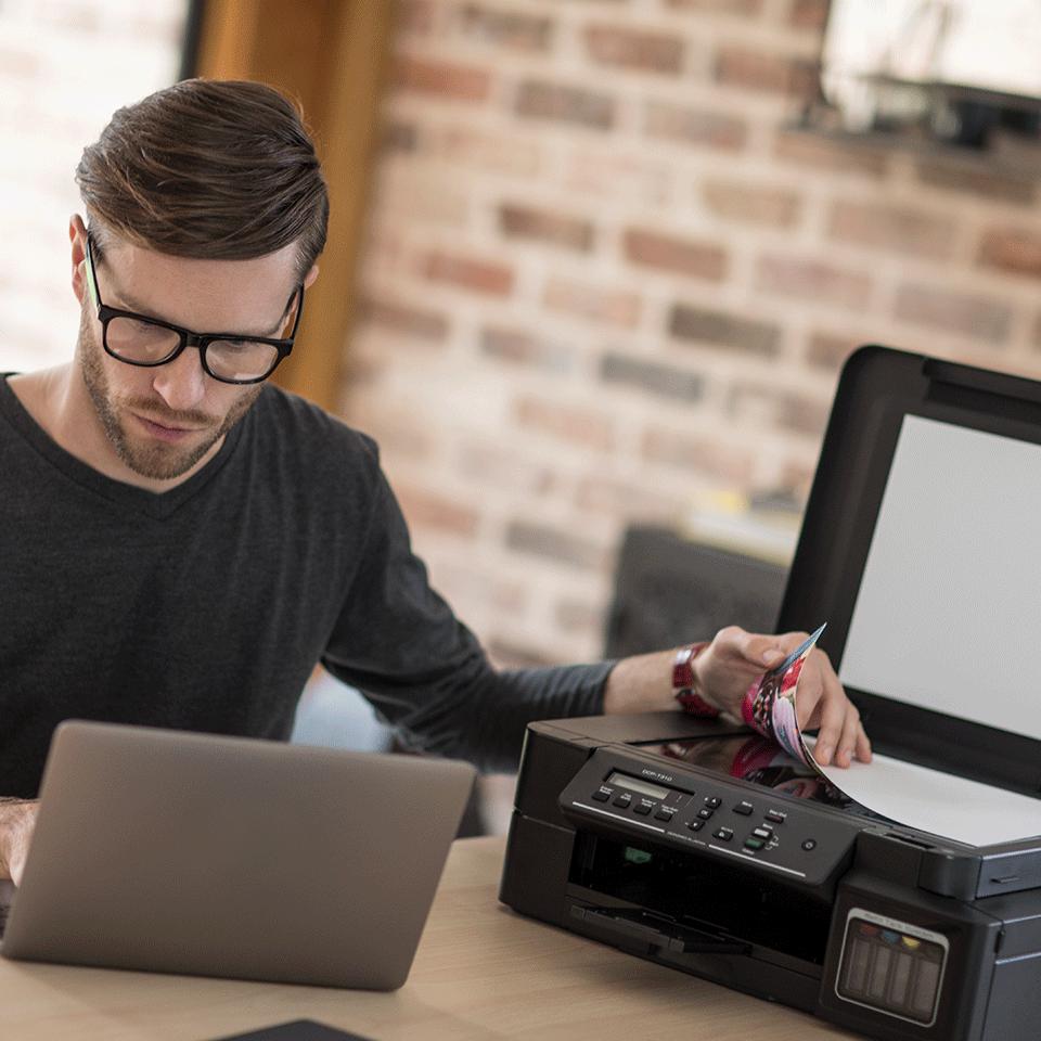 DCP-T310 InkBenefit Plus barevná multifunkční inkoustová tiskárna Brother 4