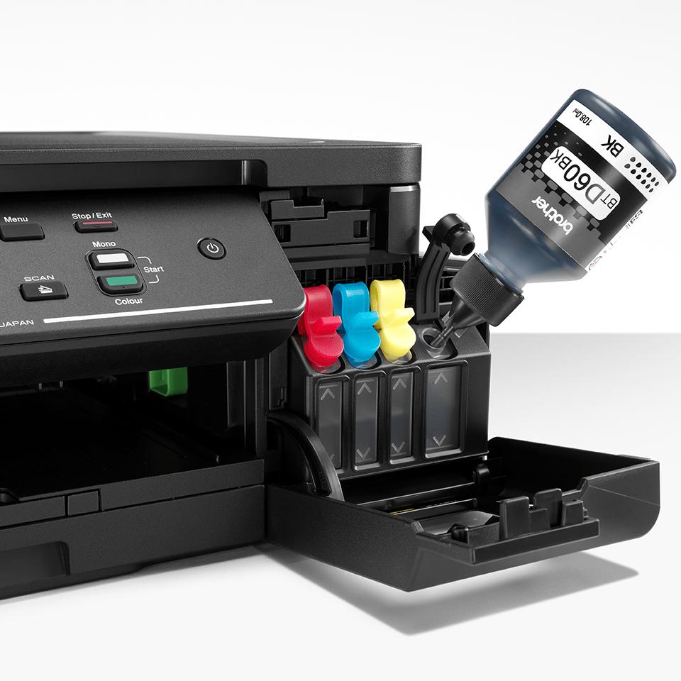 DCP-T310 InkBenefit Plus barevná multifunkční inkoustová tiskárna Brother 5