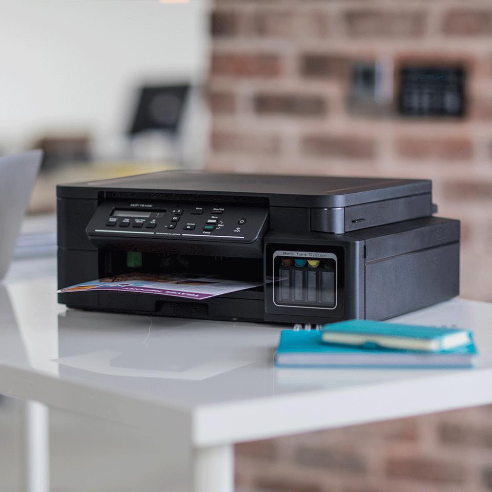 DCP-T510W InkBenefit Plus barevná multifunkční bezdrátová inkoustová tiskárna Brother  3