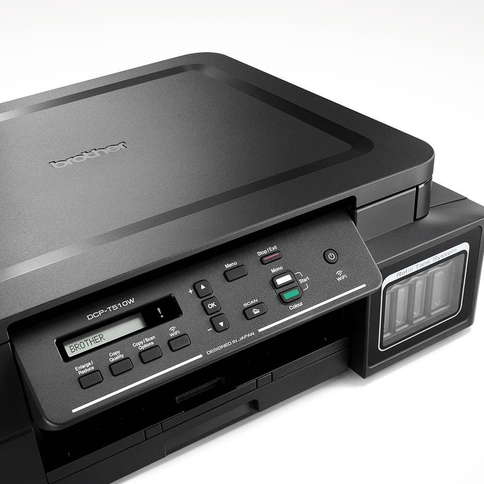DCP-T510W InkBenefit Plus barevná multifunkční bezdrátová inkoustová tiskárna Brother  4