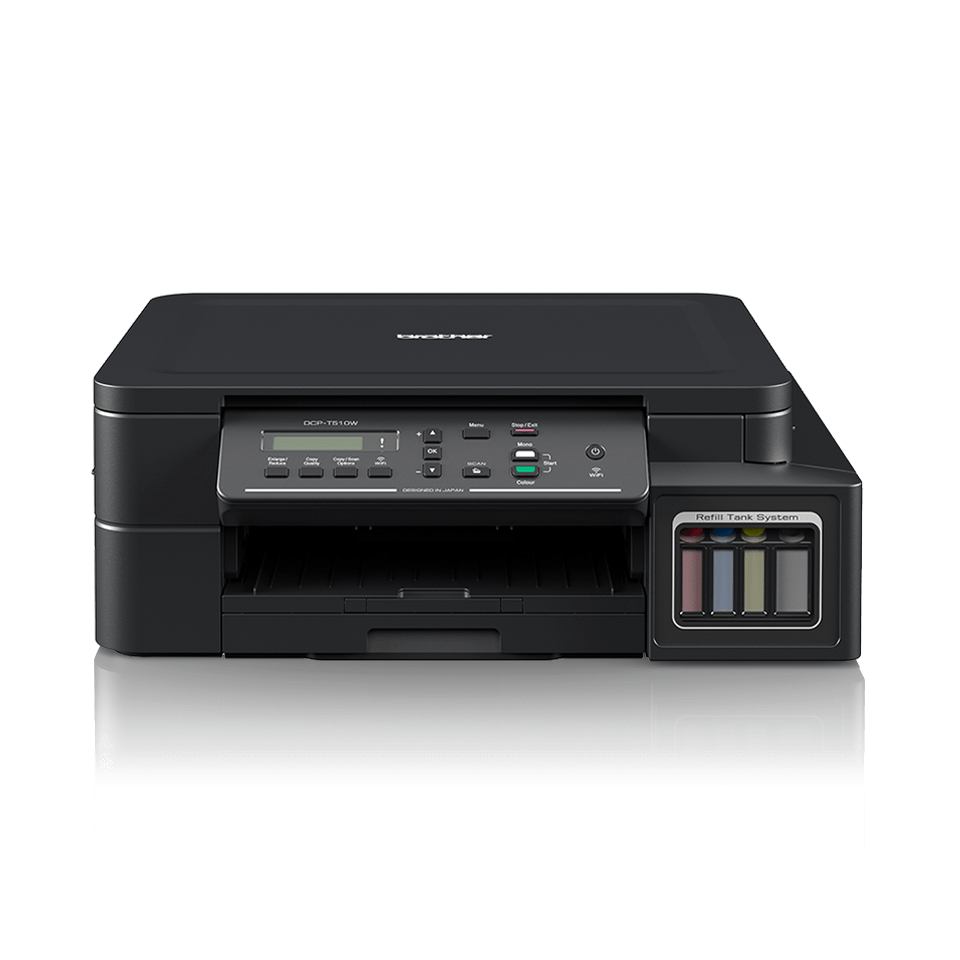DCP-T510W InkBenefit Plus barevná multifunkční bezdrátová inkoustová tiskárna Brother