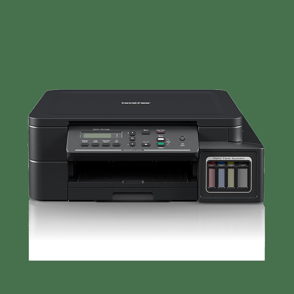 DCP-T510W InkBenefit Plus barevná multifunkční bezdrátová inkoustová tiskárna Brother  7