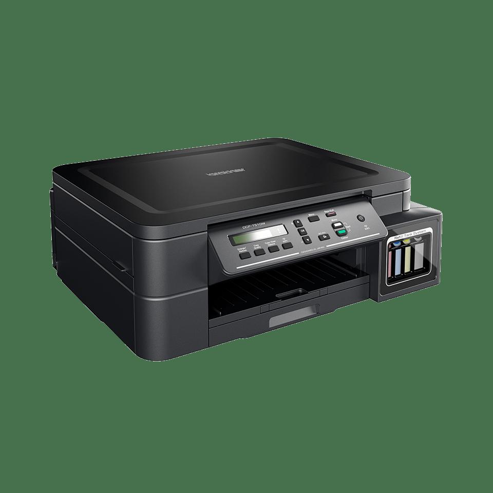 DCP-T510W InkBenefit Plus barevná multifunkční bezdrátová inkoustová tiskárna Brother  2