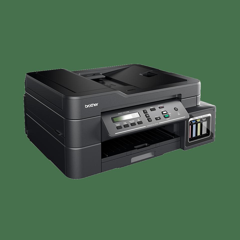 DCP-T710W InkBenefit Plus barevná multifunkční bezdrátová inkoustová tiskárna Brother 2
