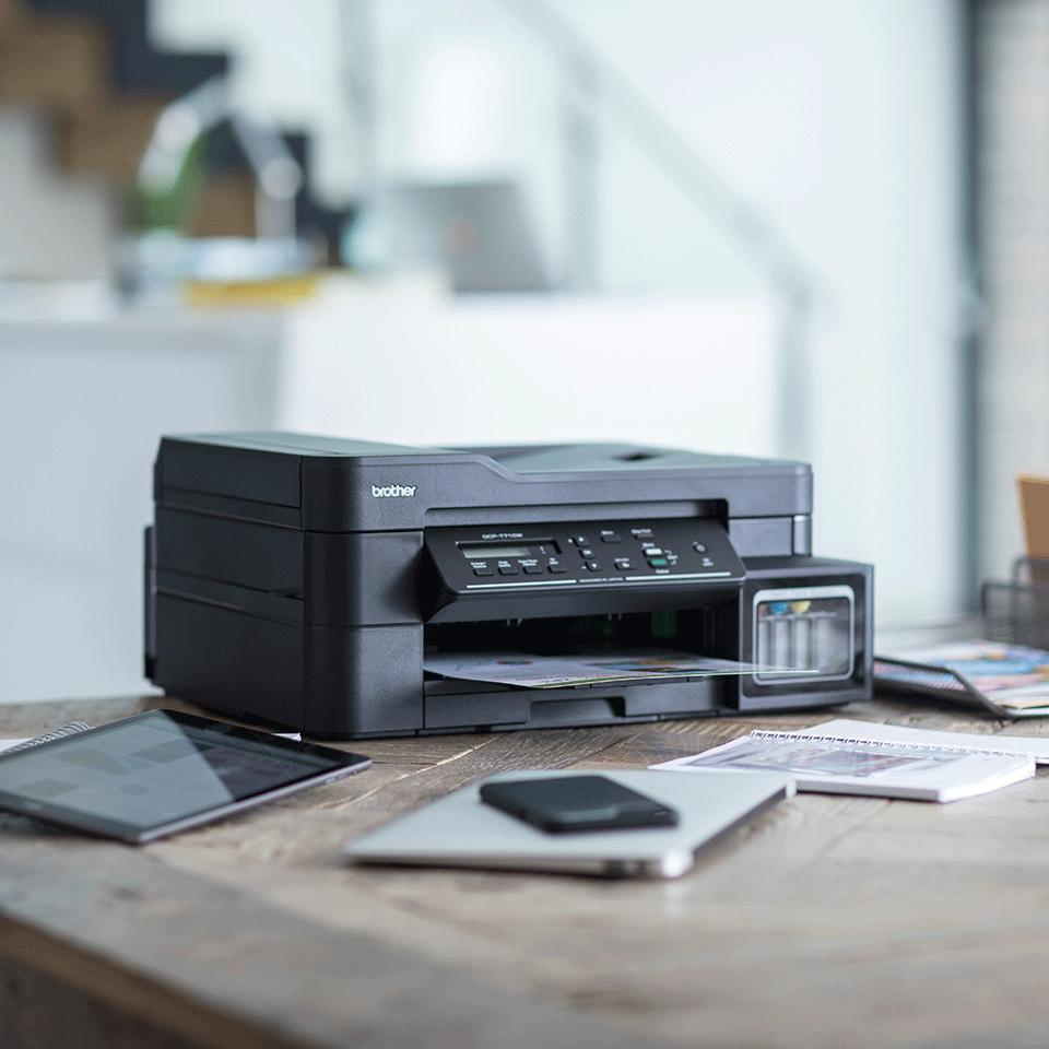 DCP-T710W InkBenefit Plus barevná multifunkční bezdrátová inkoustová tiskárna Brother 3