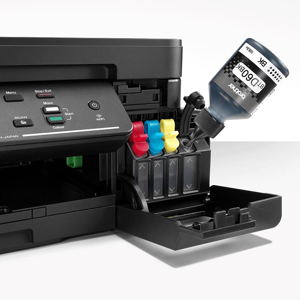 DCP-T710W InkBenefit Plus barevná multifunkční bezdrátová inkoustová tiskárna Brother 5