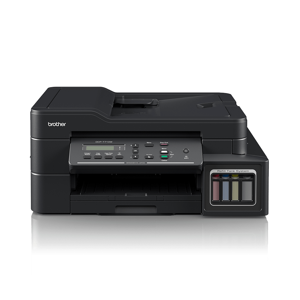 DCP-T710W InkBenefit Plus barevná multifunkční bezdrátová inkoustová tiskárna Brother