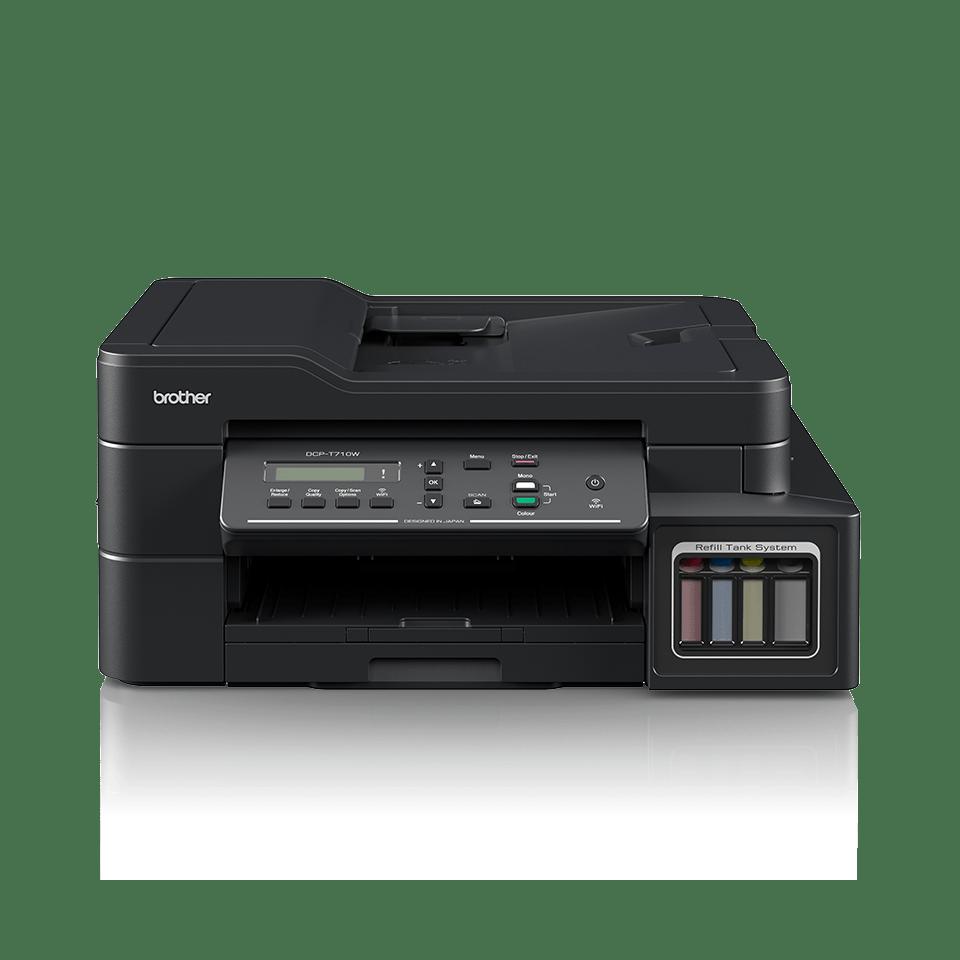 DCP-T710W InkBenefit Plus barevná multifunkční bezdrátová inkoustová tiskárna Brother 7