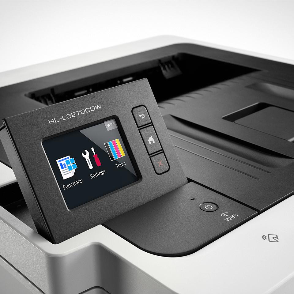 HL-L3270CDW barevná bezdrátová LED tiskárna 4