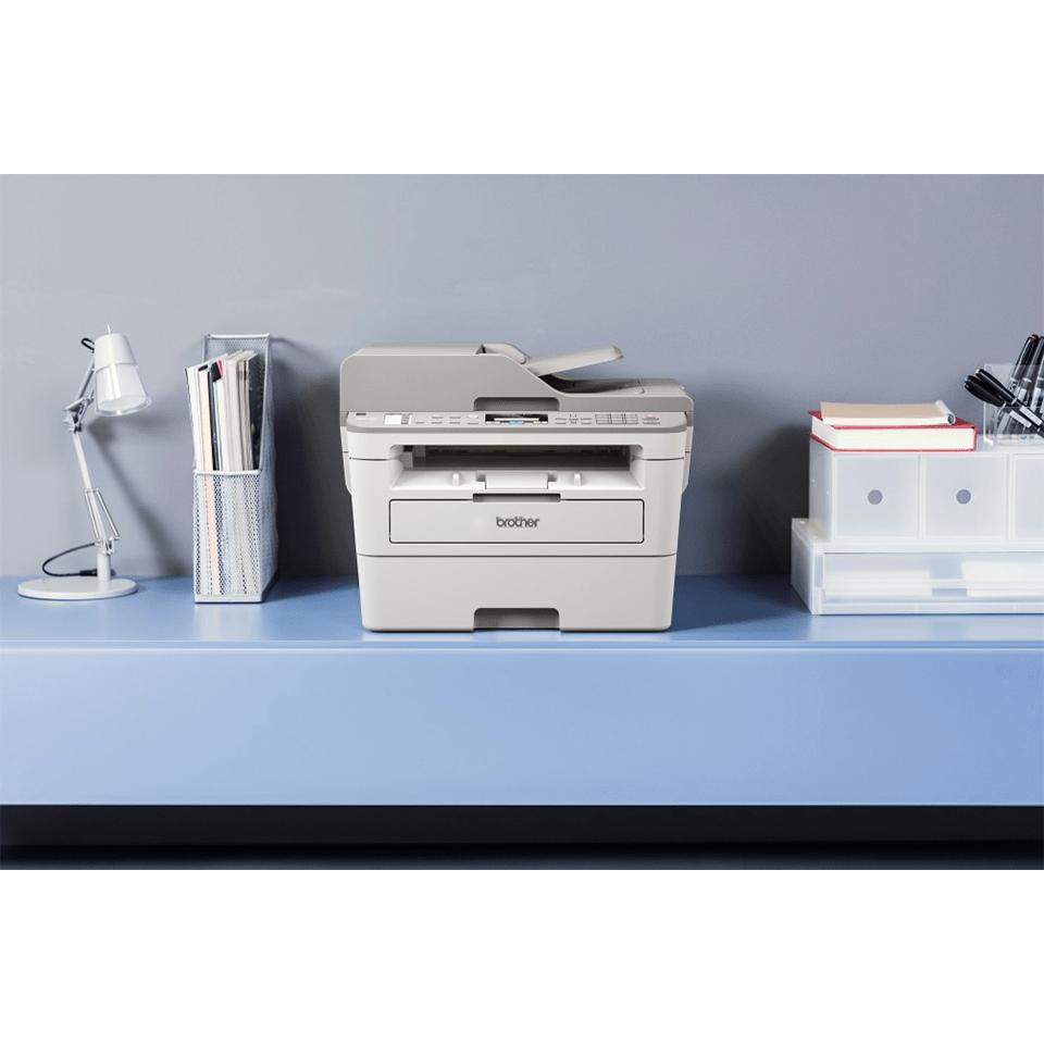 MFC-B7715DW kompaktní drátová & bezdrátová 4-v-1 tonerbenefit mono laserová tiskárna 4