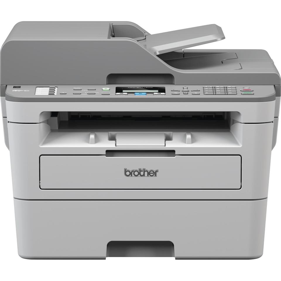 MFC-B7715DW kompaktní drátová & bezdrátová 4-v-1 tonerbenefit mono laserová tiskárna