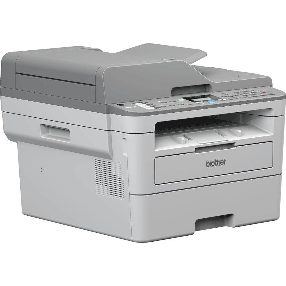 MFC-B7715DW kompaktní drátová & bezdrátová 4-v-1 tonerbenefit mono laserová tiskárna 3