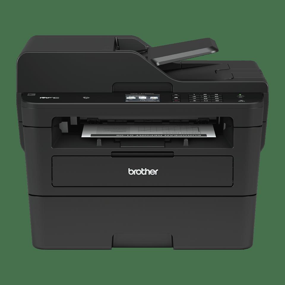 MFC-L2752DW Kompaktní bezdrátová multifunkční mono laserová tiskárna