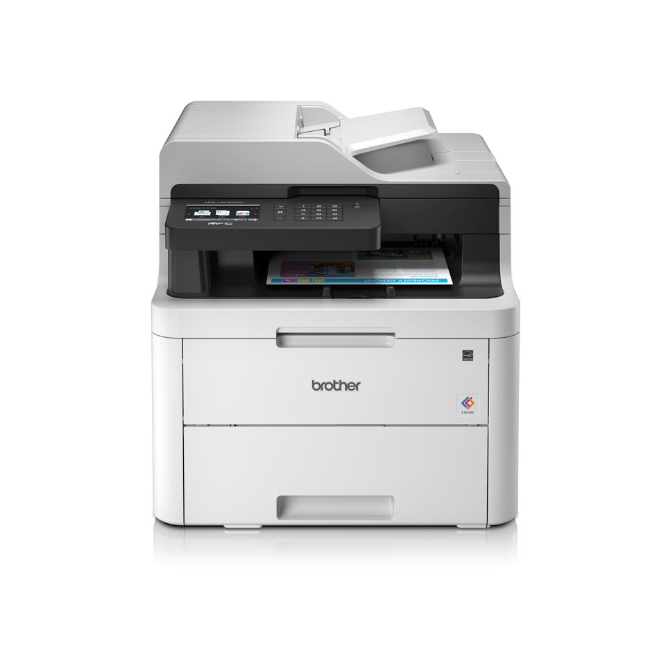 Barevná síťová LED tiskárna 4 v 1 - MFC-L3730CDN