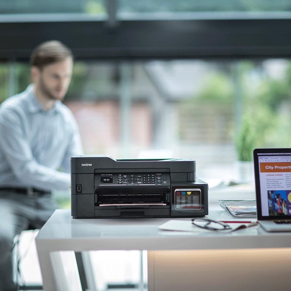 MFC-T910DW InkBenefit Plus barevná multifunkční bezdrátová inkoustová tiskárna Brother 3