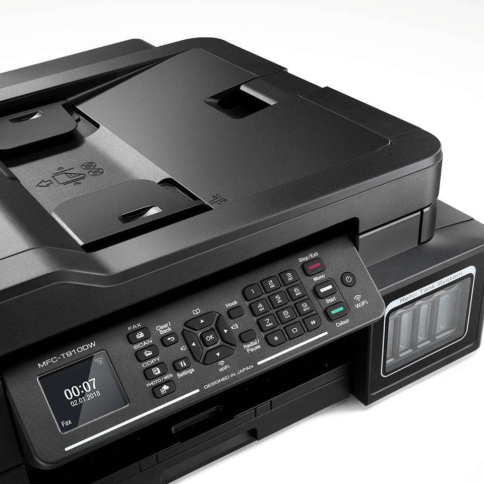 MFC-T910DW InkBenefit Plus barevná multifunkční bezdrátová inkoustová tiskárna Brother 5