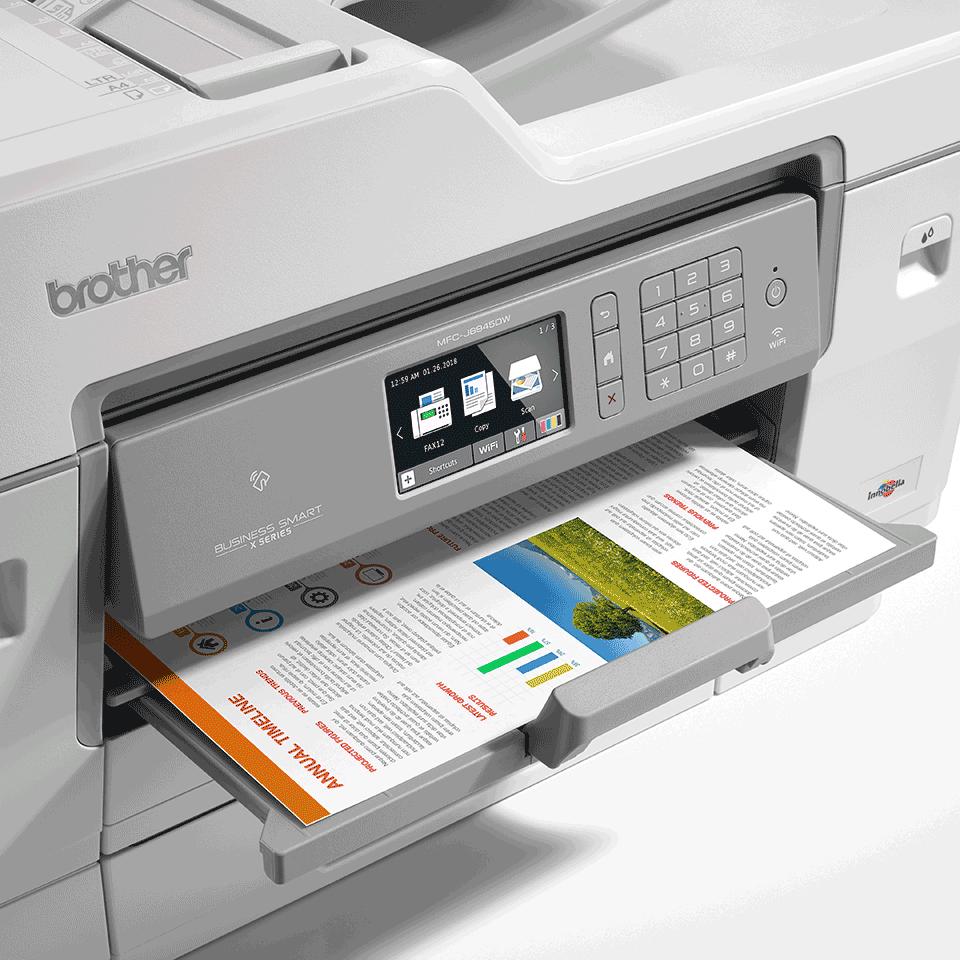MFC-J6945DW Barevná bezdrátová inkoustová tiskárna A3 4 v 1 6