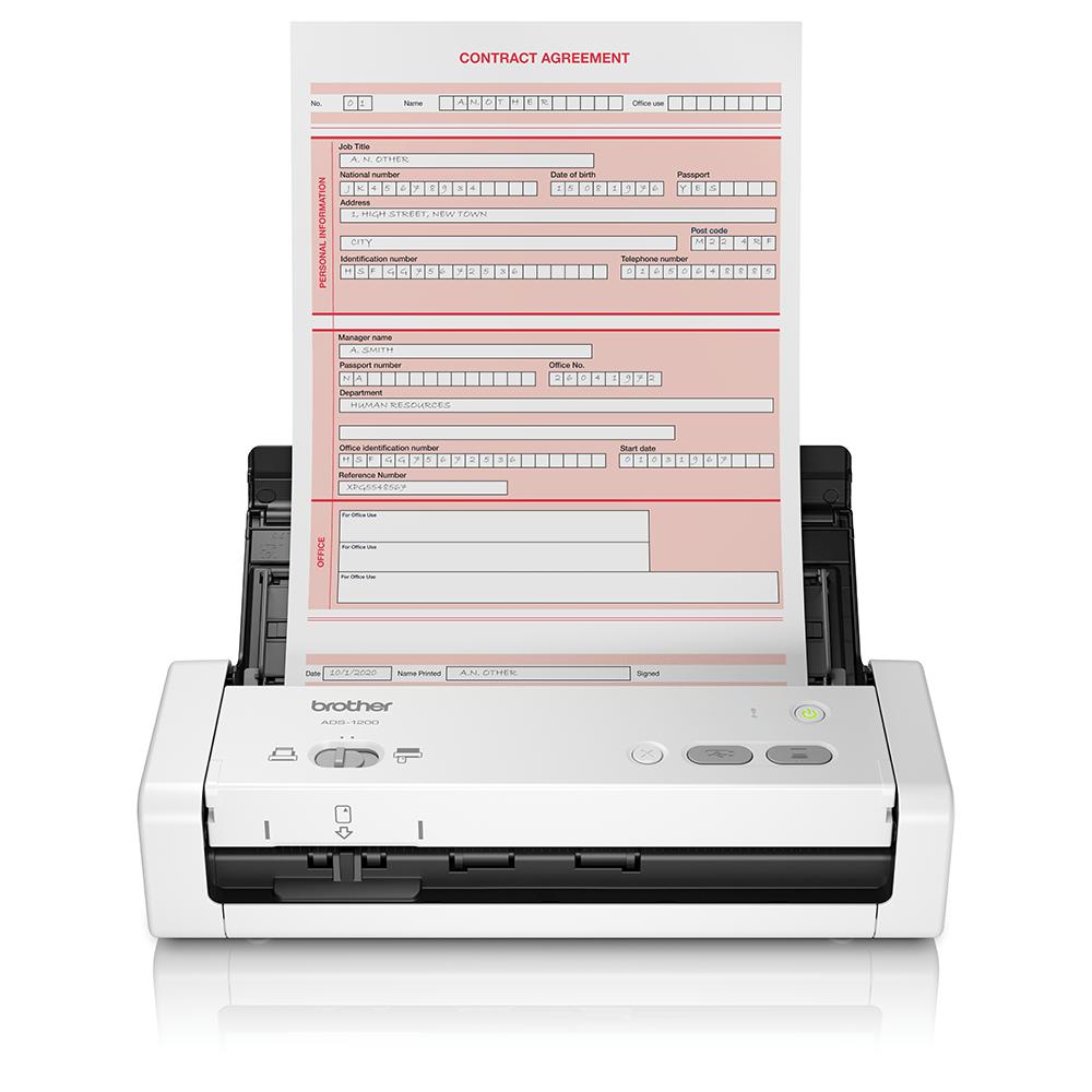 ADS-1200 přenosný kompaktní skener dokumentů